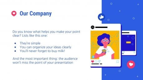 Influencer Campaign presentation template