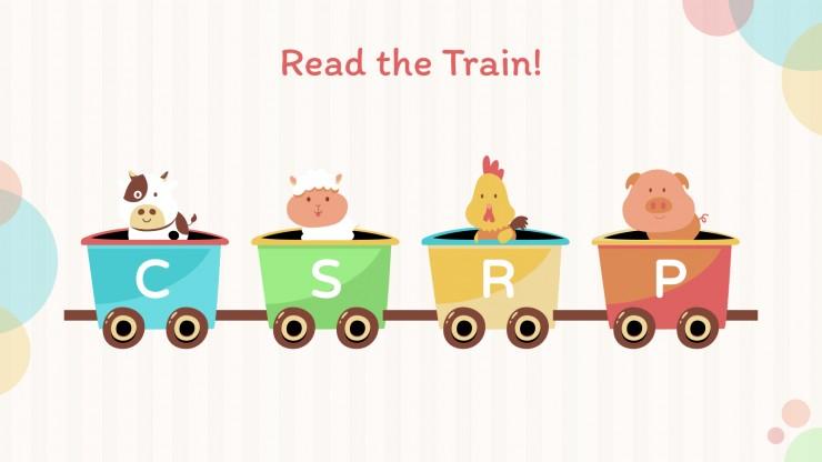 Modelo de apresentação Aprender os animais em inglês