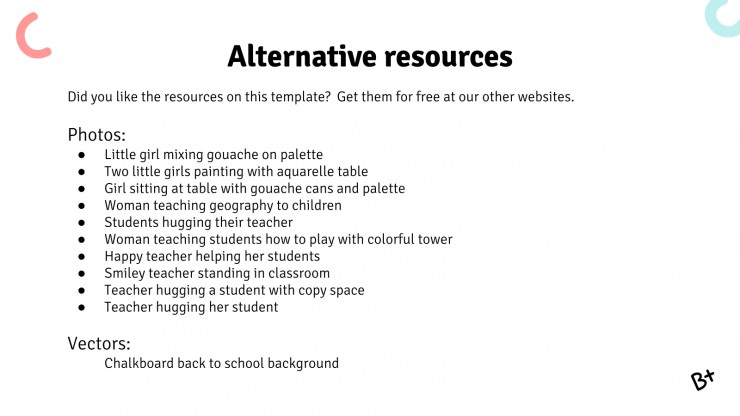 Alternative Education Center presentation template