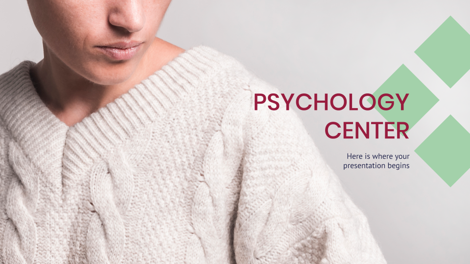 Psychology Center Presentation - Free Google Slides theme and Powerpoint template