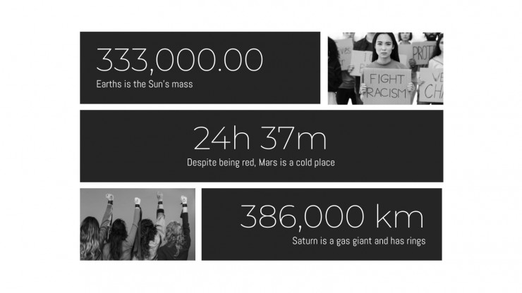 Human Rights Rally presentation template