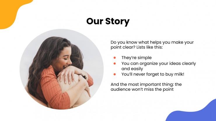 Mental Health Center presentation template