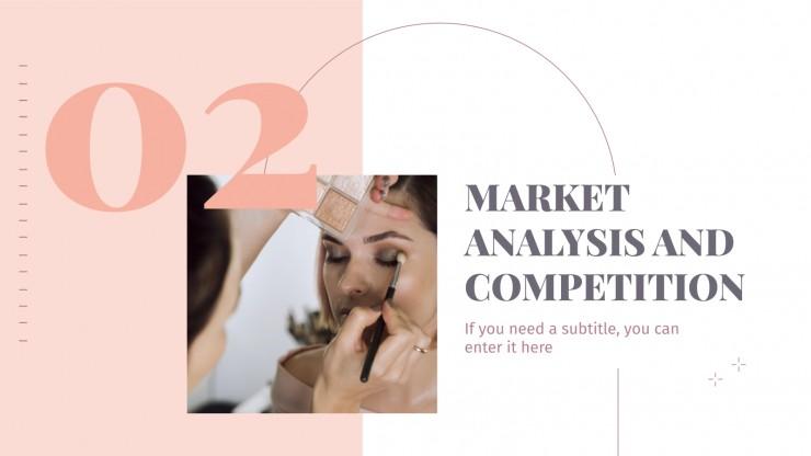 Beauty Salon Business Plan presentation template