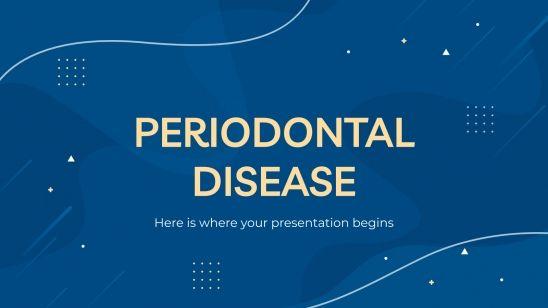 Modelo de apresentação Doença periodontal