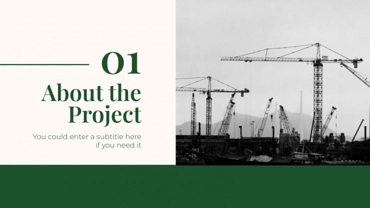 Ölkrise Projektvorschlag Präsentationsvorlage
