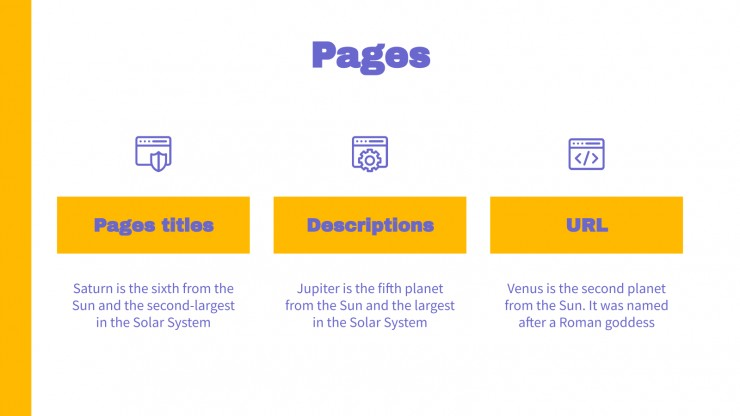 SEO Monthly Report presentation template
