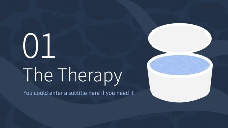 Sensory Deprivation Tank Therapy presentation template