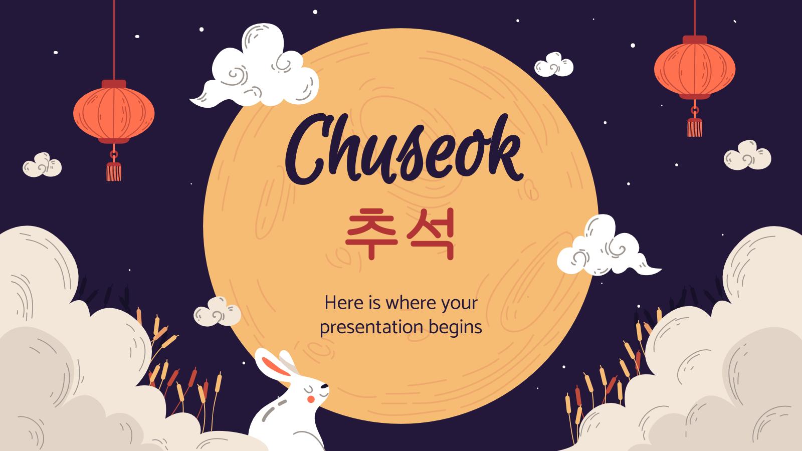 Plantilla de presentación Festividad Chuseok