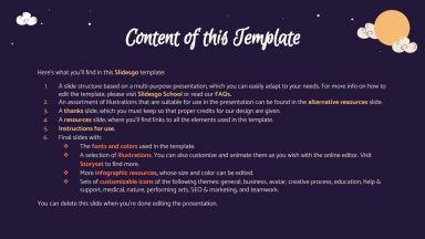 Chuseok Festivity presentation template