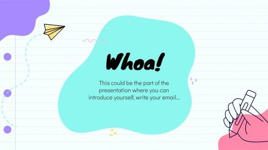 Plantilla de presentación Clase para primaria
