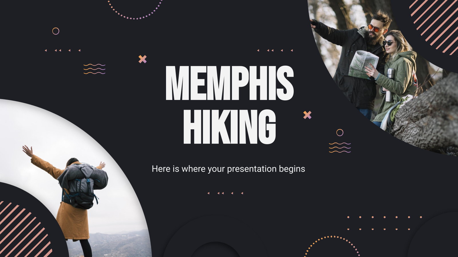 Memphis Hiking presentation template