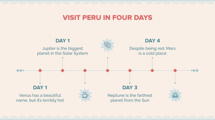 Peru Travel Tour presentation template
