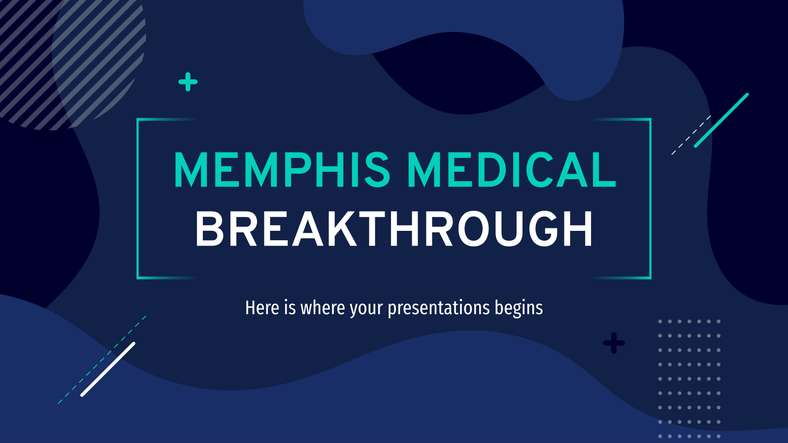 Memphis Medical Breakthrough presentation template