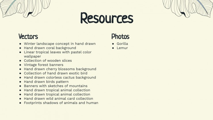 Pastel Wild Animals Newsletter presentation template