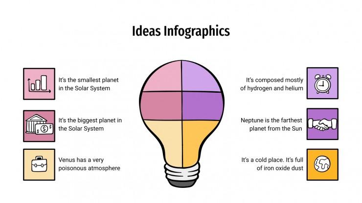 Ideas Infographics presentation template