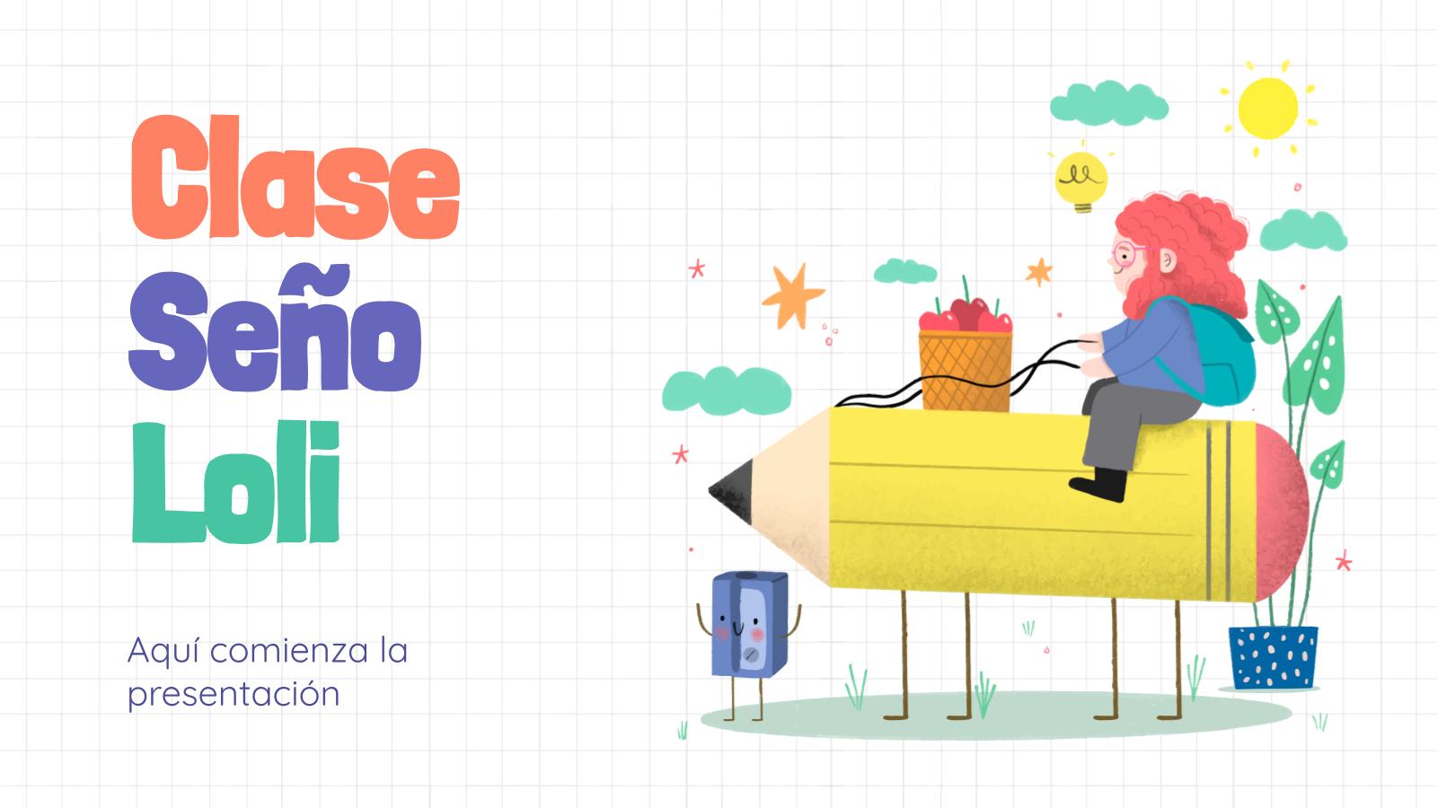 Modelo de apresentação Clase Seño Loli