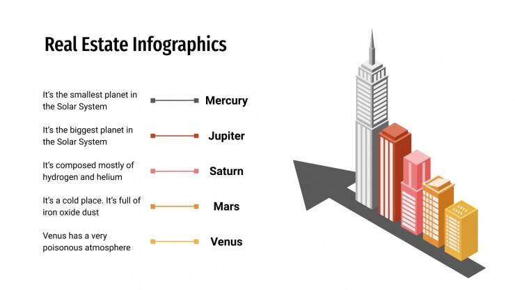 Real Estate Infographics presentation template