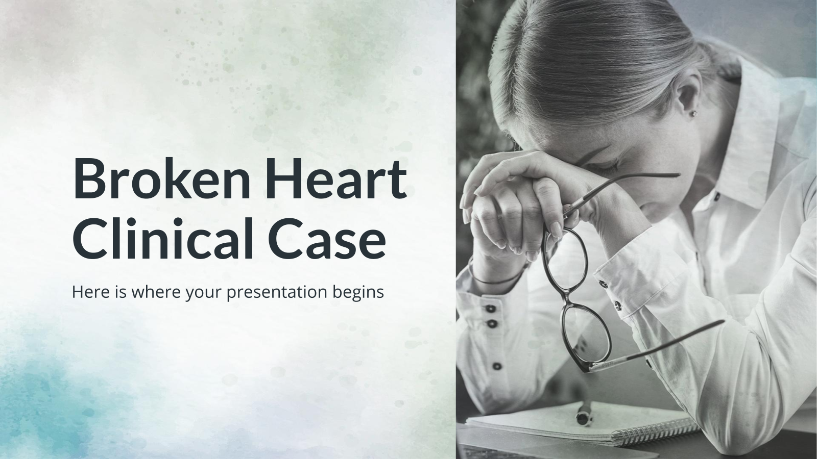 Broken Heart Clinical Case presentation template