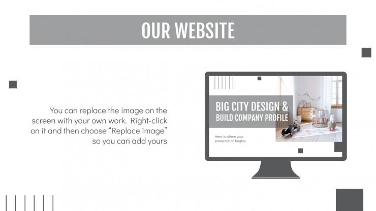 Profil d'entreprise Big City Design & Build : Modèles de présentation