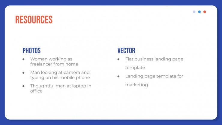 Profil d'entreprise de SEO et SEM : Modèles de présentation