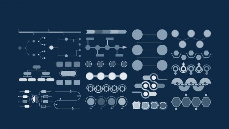 Modelo de apresentação Perfil de empresa de SEO e SEM