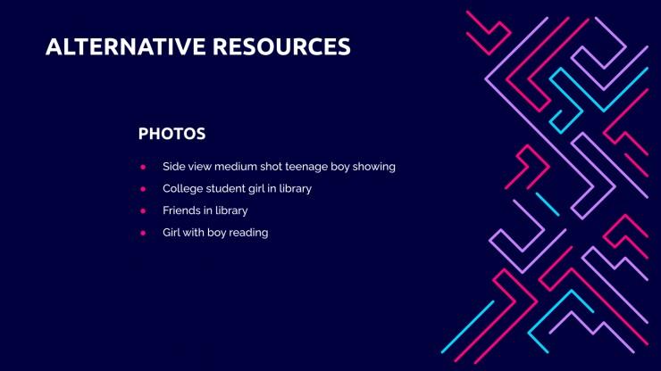 Casse-tête pour le lycée : Modèles de présentation