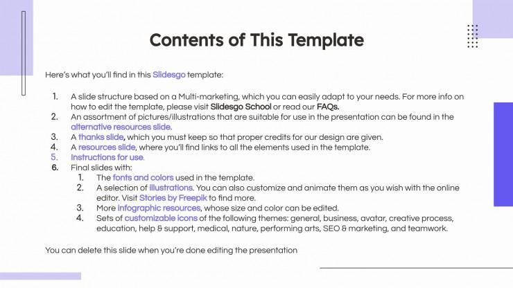 Mumbi Business Plan presentation template