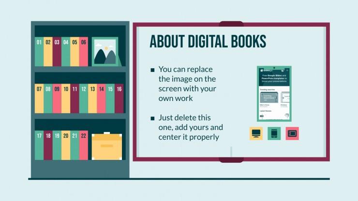 Book Shelf presentation template