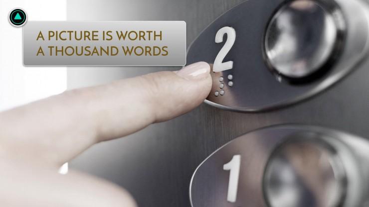 Plantilla de presentación Formas de ascensor powerint