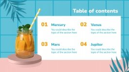Orange Juice Appreciation presentation template
