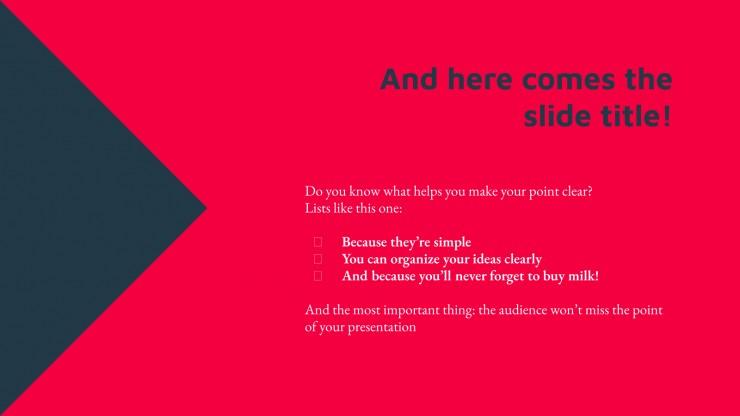 Modern Business presentation template