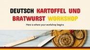 Deutsch Kartoffel und Bratwurst Workshop Präsentationsvorlage