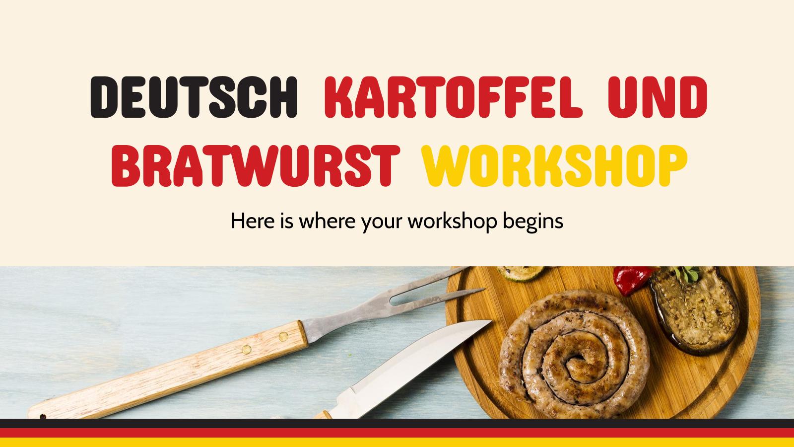 Modelo de apresentação Curso de Kartoffel und Bratwurst