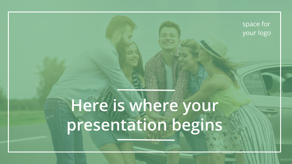 Simple Travel presentation template