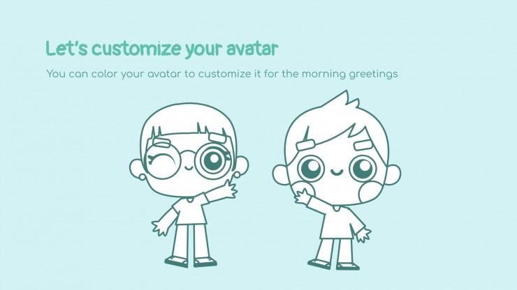 Salutations matinales et distanciation sociale : Modèles de présentation