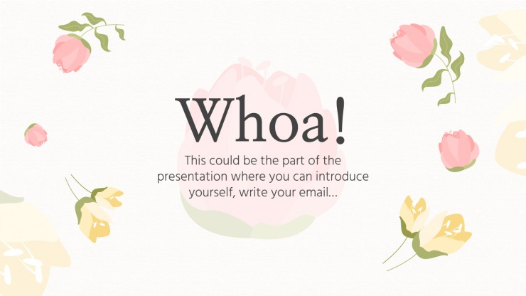 Roses for Everyone Pitch Deck presentation template