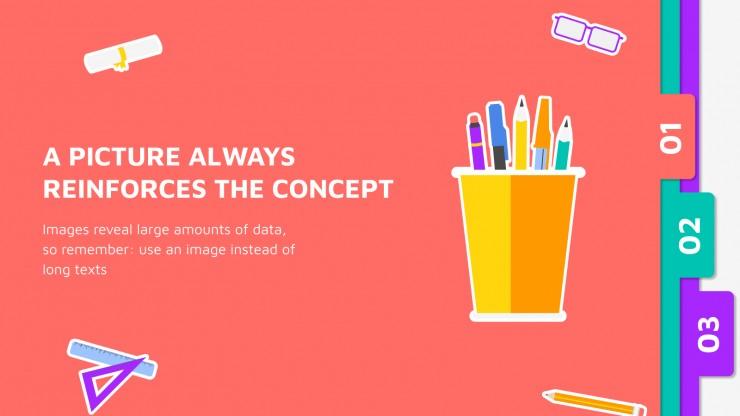 Interactive Folders presentation template