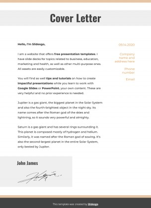 Plantilla de presentación CV de hombre de negocios