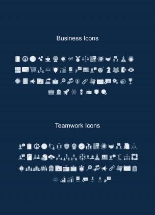 Businessman CV presentation template