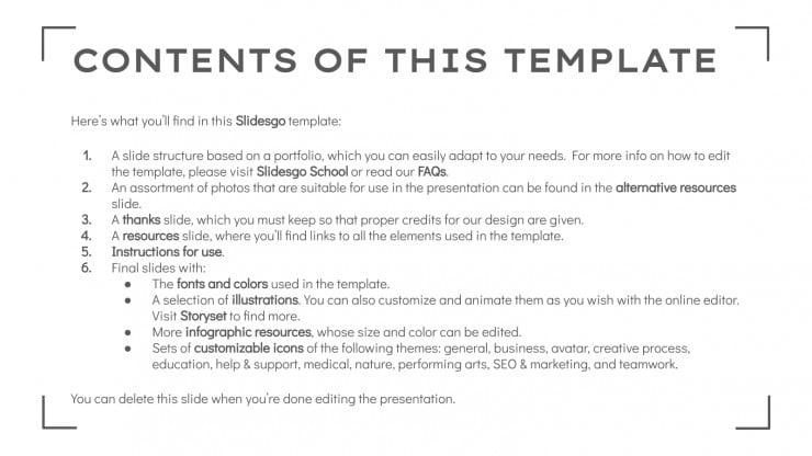 Adventure Photographer Portfolio presentation template