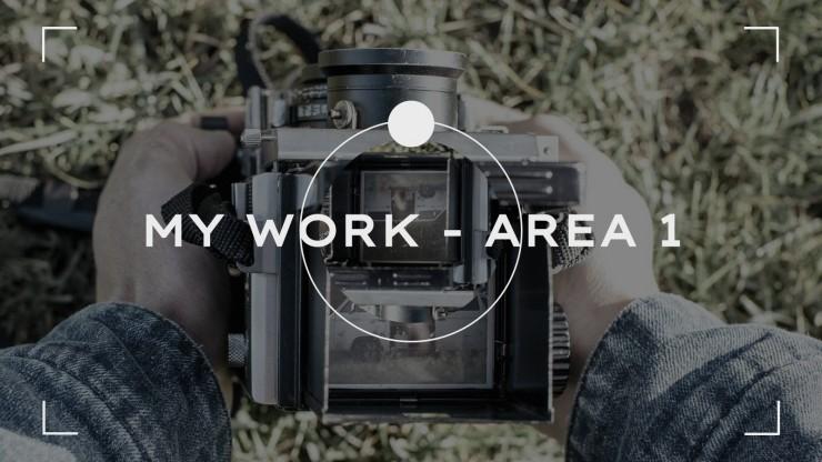 Modelo de apresentação Portfólio de fotógrafo aventureiro