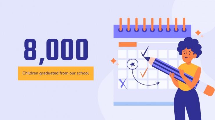 Modelo de apresentação Sistema de gestão escolar