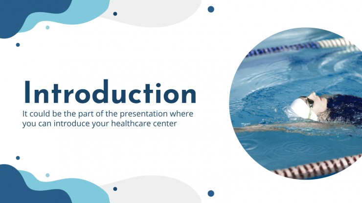 Aquatic and Physical Therapy Center presentation template