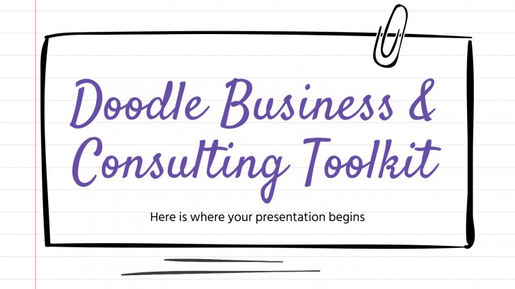 Doodle Business & Consulting Toolkit presentation template