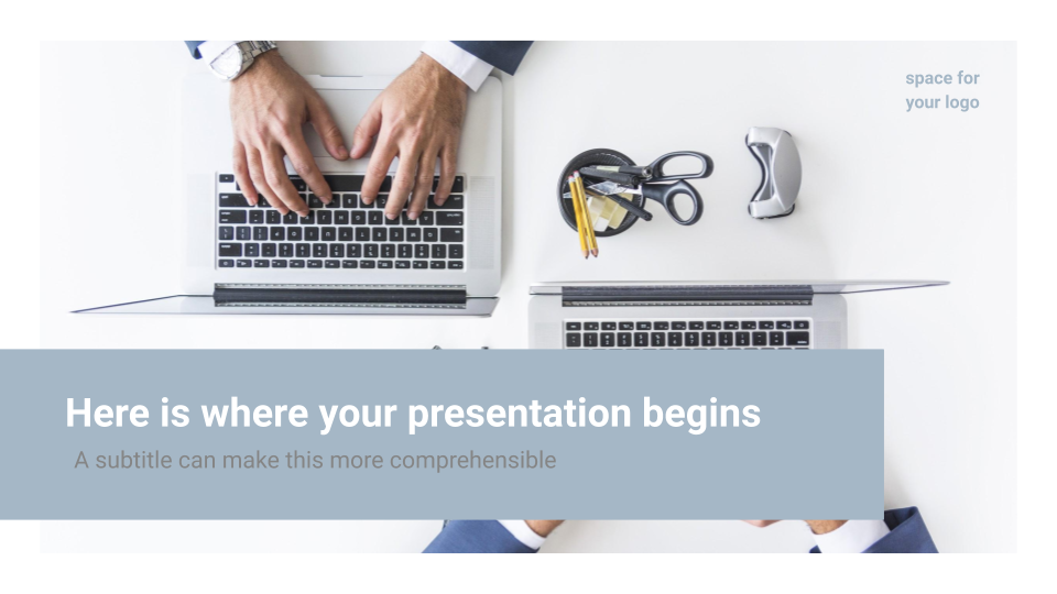 Simple Business - Free Presentation Template for Google