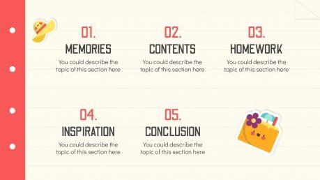 End of the School Year: Summer Break presentation template