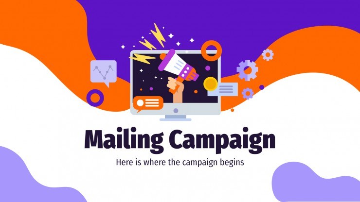 Mailing Campaign presentation template