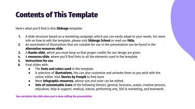 Modelo de apresentação Campanha por e-mail