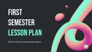 Plantilla de presentación Plan de clases