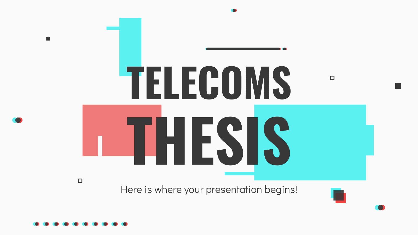 Modelo de apresentação Tese sobre telecomunicações